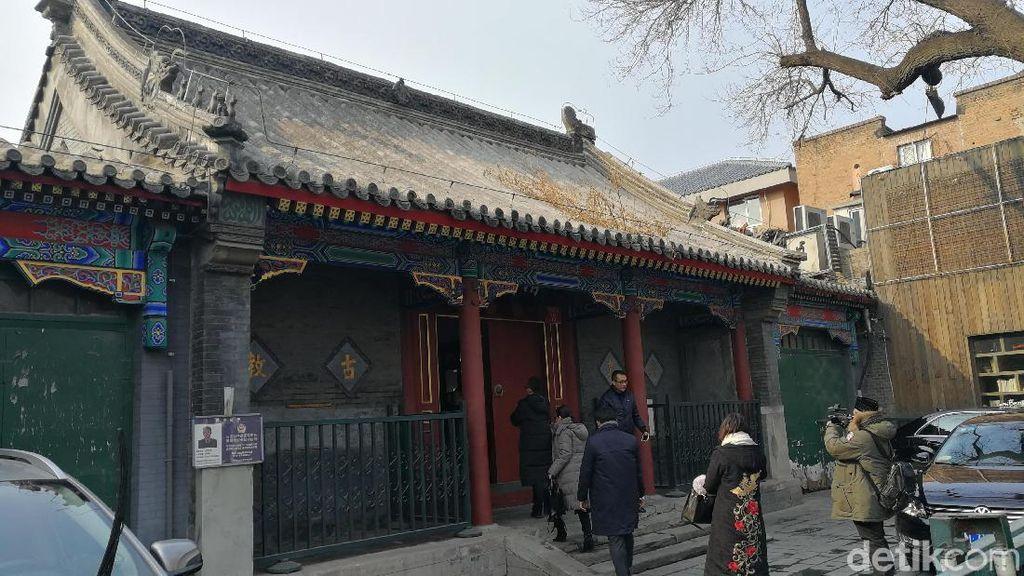 Satu Asar di Masjid Berusia 800 Tahun di Beijing