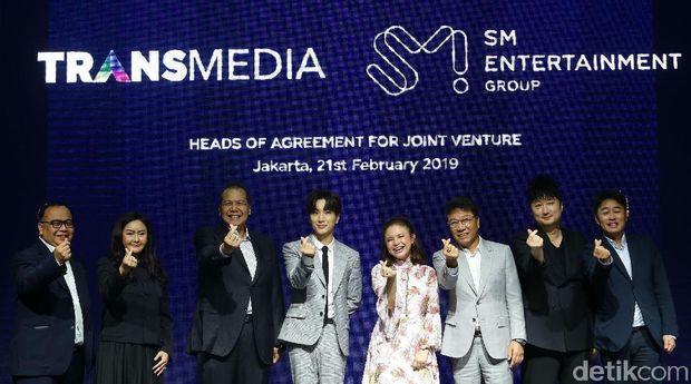 Transmedia-SM Siap Boyong Artis Indonesia-Kpop ke Pentas Dunia