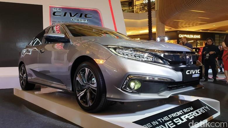 New Honda Civic 1.5 liter Foto: Luthfi Anshori/detikOto