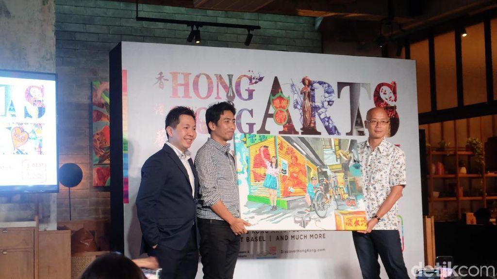Cerita Emte Melukis Sudut Hong Kong yang Ikonik