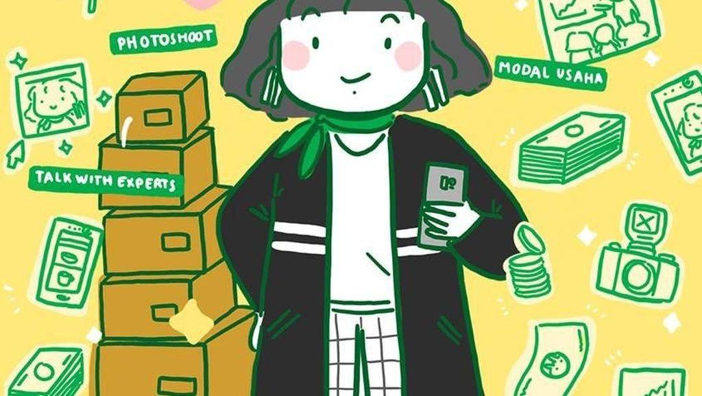 Grab Mau Kasih Modal Puluhan Juta untuk Bisnis Online, Caranya?