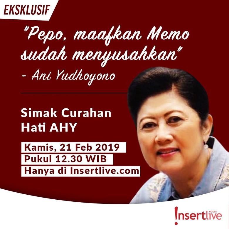 AHY Buka-bukaan Memo Rahasia Ibu Ani ke SBY di Insertlive