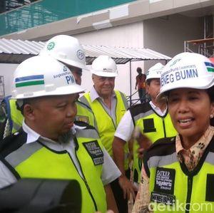 Cek Bandara Kulon Progo, Rini: Insyaallah Selesai Sesuai Target