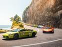 Komunitas Mobil Mewah Lamborghini Plesiran di Bali