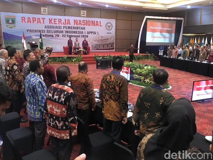 Foto: Rakernas APPSI di Kota Padang, Sumbar. (Jeka Kampai-detikcom)