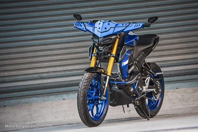 Yamaha MT-15 Bertanduk Kerbau. Foto: Dok. MotoSaigon