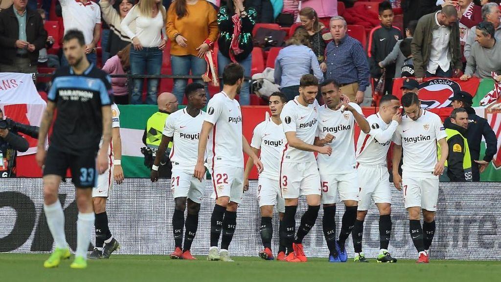 Hasil Liga Europa: Singkirkan Lazio, Sevilla ke Babak 16 Besar