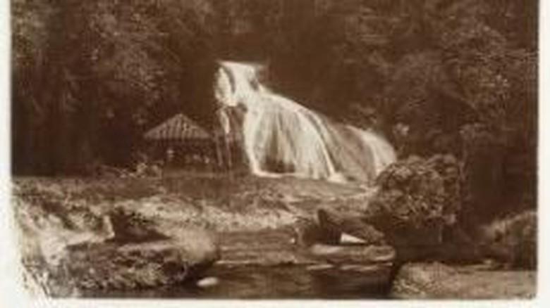 Foto:  Bantimurung sekitar 100 tahun lalu (istimewa)