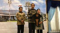 Jenguk Ani Yudhoyono, Jokowi Disambut AHY di NUH Singapura