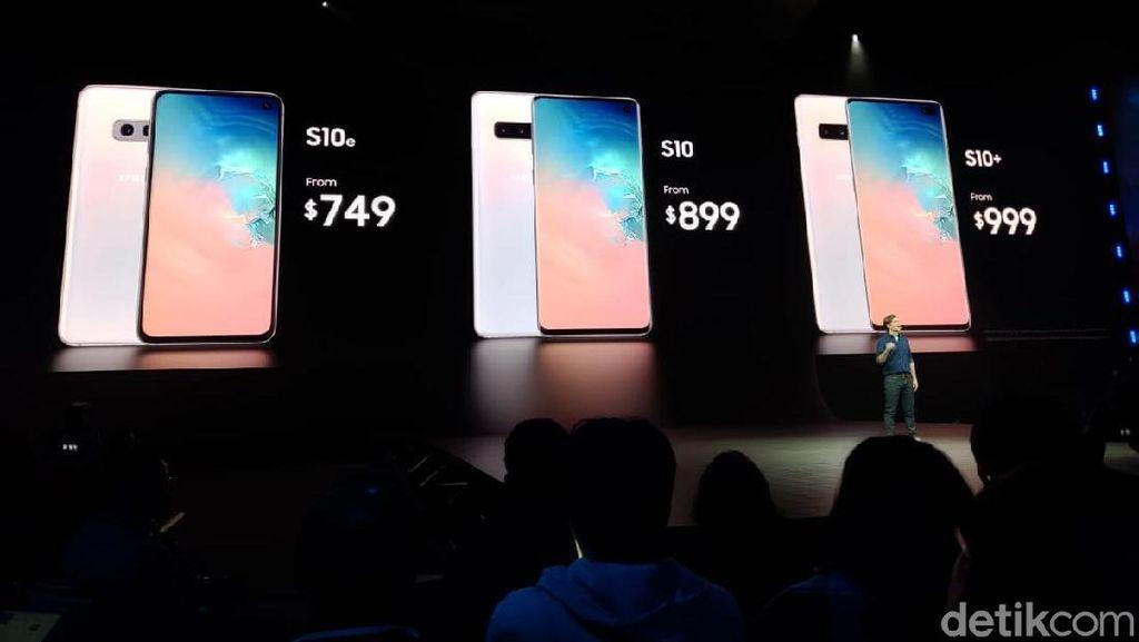 Harga Samsung Galaxy S10, Galaxy S10+ & Galaxy S10e di Indonesia