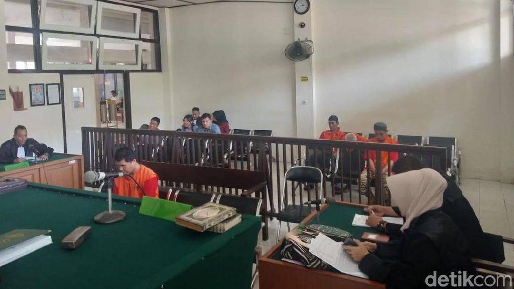 Jadi Bandar 2 Kg Sabu, Pecatan Polisi di Sumsel Jalani Sidang Perdana
