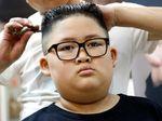 Sambut Pertemuan Korut-AS, Bocah Ini Tiru Gaya Rambut Kim Jong Un