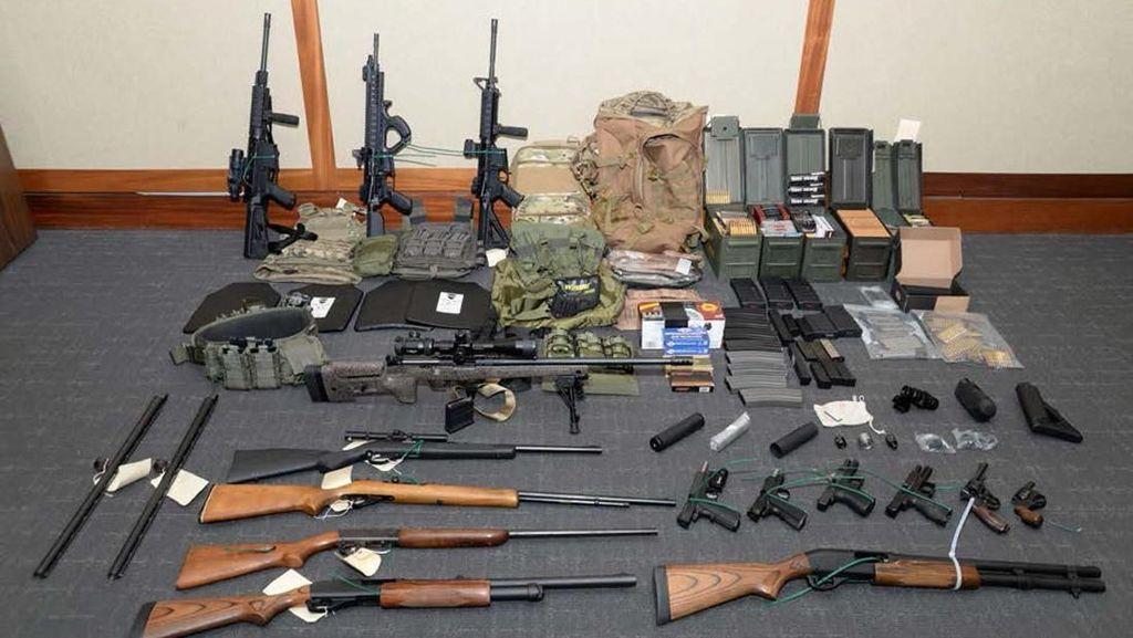 Rencanakan Serangan Massal, Petugas Patroli Pantai AS Ditangkap