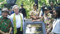 Dirjen KSDA KLHK Wiratno, Direktur British Council Paul Smith , Walikota Bitung Max J Lomban dan istri (Wahyu/detikTravel)