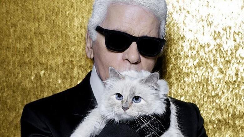 Mendiang Karl Lagerfeld dan Choupette (choupettesdiary/Instagram)