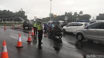 Jl Medan Merdeka Barat Ditutup Jelang Munajat 212, Lalin Dialihkan