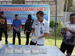 BNNP Sultra Musnahkan 5 Kg Sabu