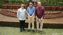 Menteri ESDM Kunjungi Taman Terakota & Nikmati Kopi Osing di Banyuwangi