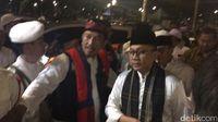 Ketua MPR Zulkifli Hasan di acara Munajat 212 di Monas