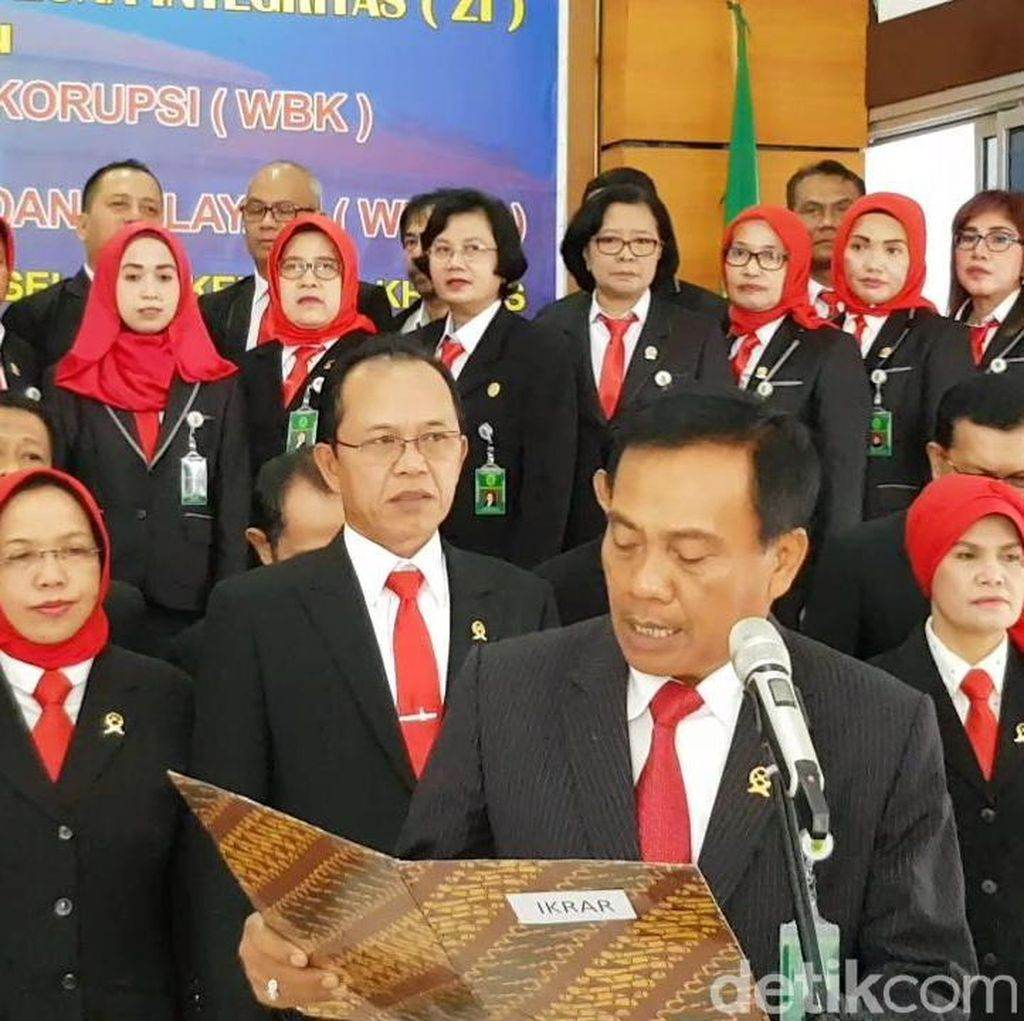 Para Wakil Tuhan Berikrar Perangi Korupsi