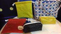 Menarik Dicoba, Pouch Kosmetik dari Sampah Plastik