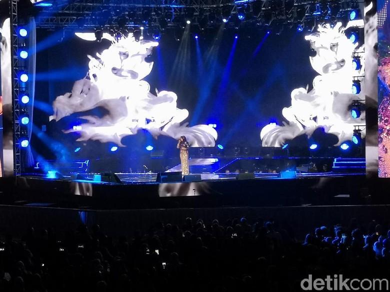 Foto: Konser Siti Nurhaliza (Dyah P Saraswati/detikHOT)