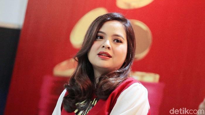 Tasya Kamila saat ditemui di kawasan Kemang.