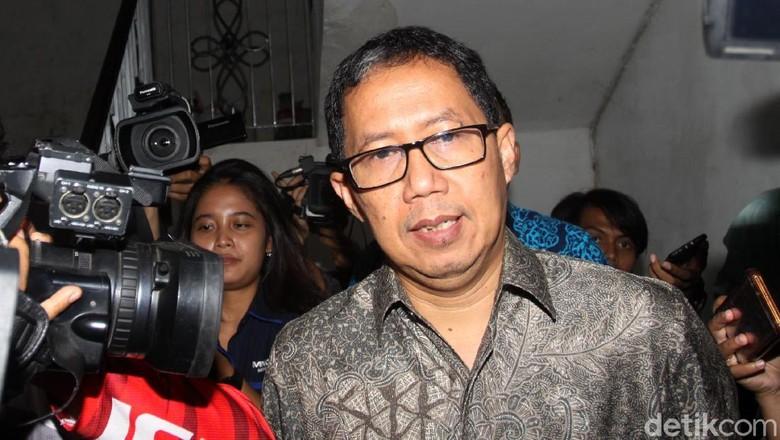 Joko Driyono Ditahan di Rutan Polda Metro Jaya