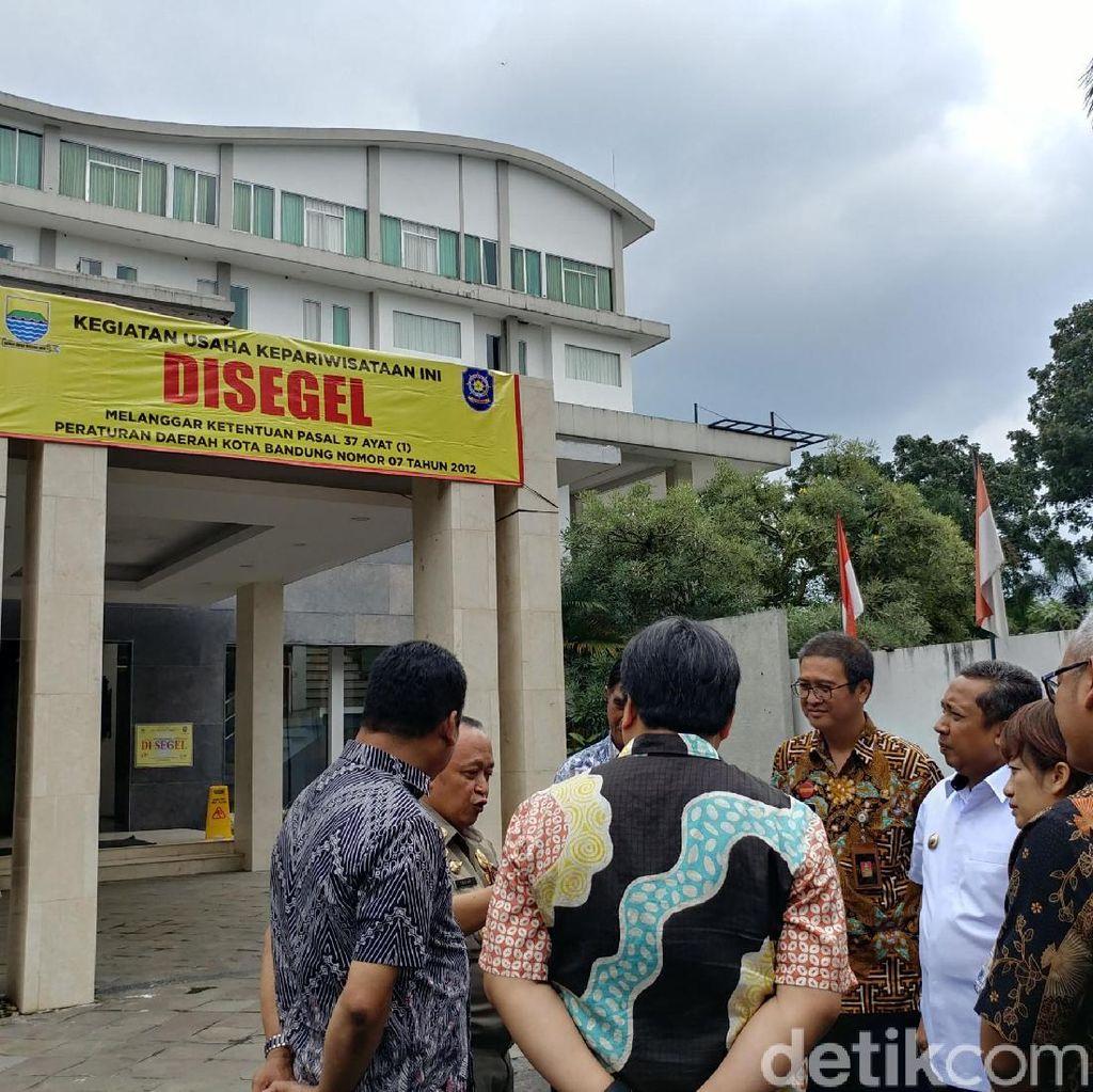 Disegel, Hotel Bintang 4 di Bandung Tak Boleh Terima Tamu Lagi