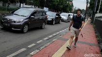 Jakarta Bakal Punya Trotoar yang Ramah Pejalan Kaki
