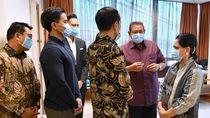 SBY Ucapkan Terima Kasih ke Jokowi karena Jenguk Bu Ani
