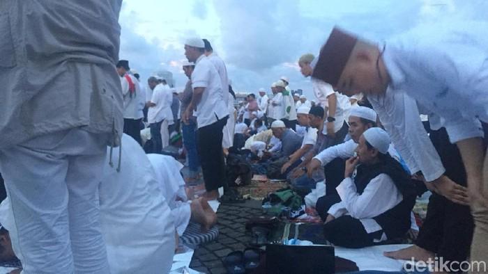 Munajat 212 di Monas (Ibnu Hariyanto/detikcom)