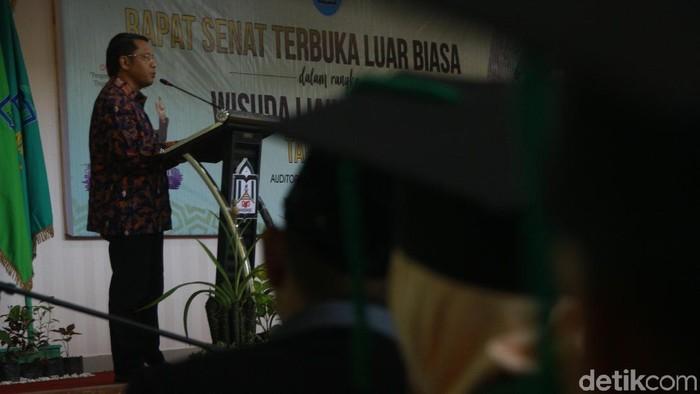 Foto: Direktur Jenderal Pendidikan Islam (Dirjen Pendis) Kementerian Agama Islam Prof Dr Phil H Kamaruddin Amin (Hasrul-detikcom)