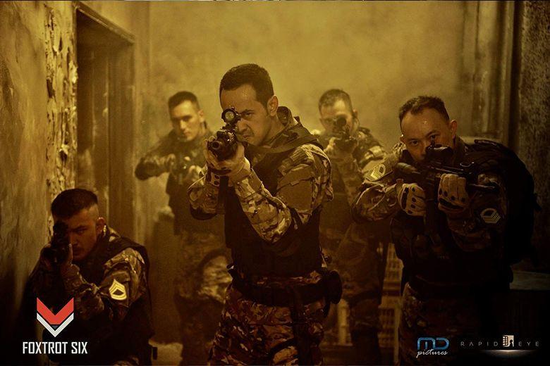 Foxtrot Six disebut menghadirkan film aksi dengan kualitas ala Hollywood.Dok. MD Pictures