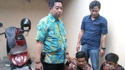 Pencurian Motor di 4 TKP Terbongkar Gara-gara Pesta Sabu