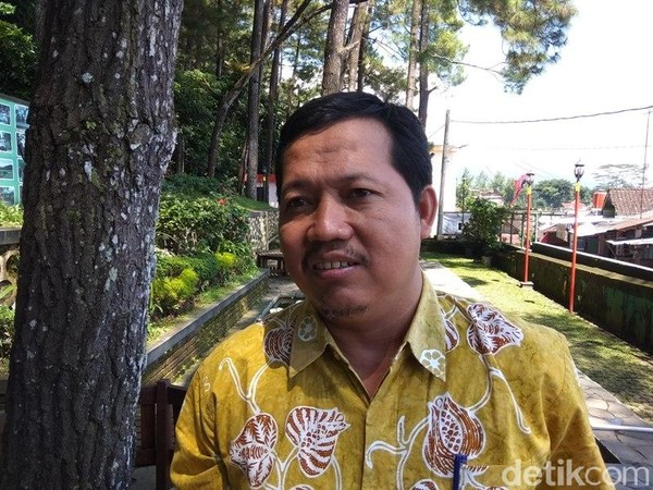 Kepala UPT Kawasan Gunung Tidar, Dinas Pertanian dan Pangan Kota Magelang, Widodo mengatakan, kawasan yang ada di Gunung Tidar meliputi Gunung Tidar dan sekitarnya seperti Magersari dan Trunan. (Eko Susanto/detikTravel)