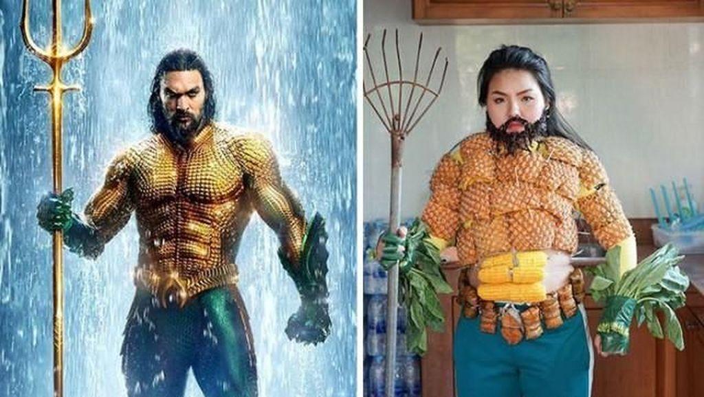 Aksi Kreatif Cosplayer Thailand Bikin Ngakak Netizen