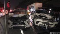 Kecelakaan Beruntun di Tol, Sidoarjo-Waru Macet Lebih dari 1 Jam