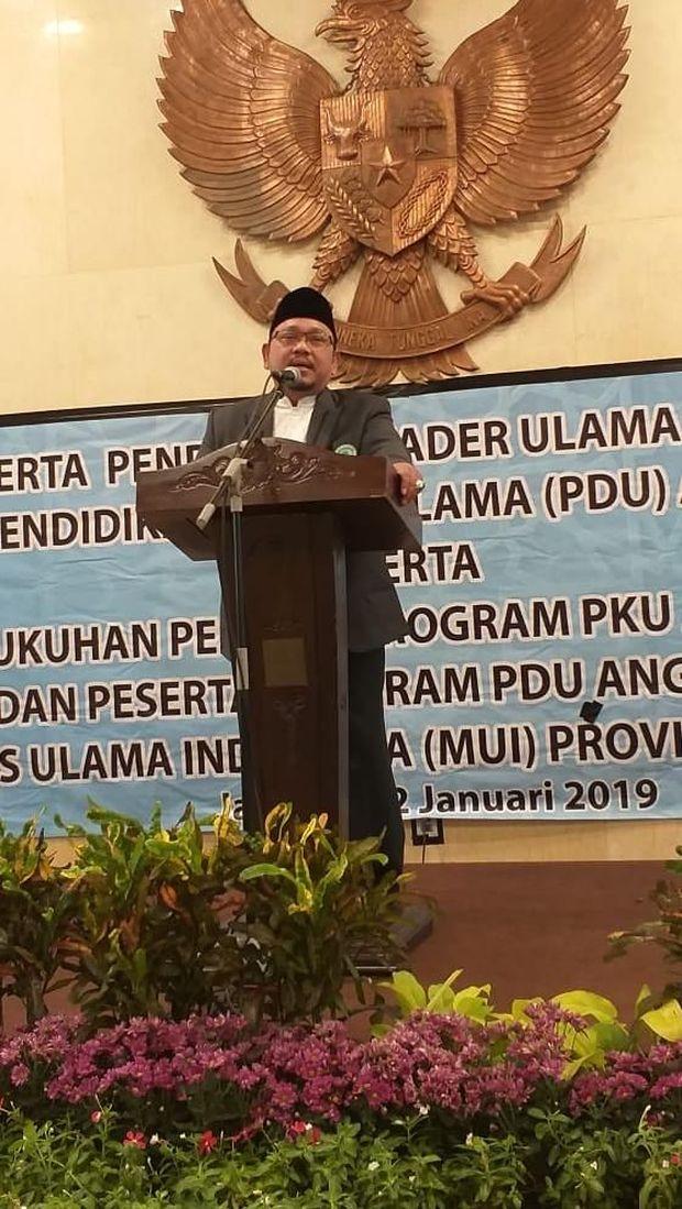 Ketua MUI DKI Jakarta KH Munahar Muchtar.