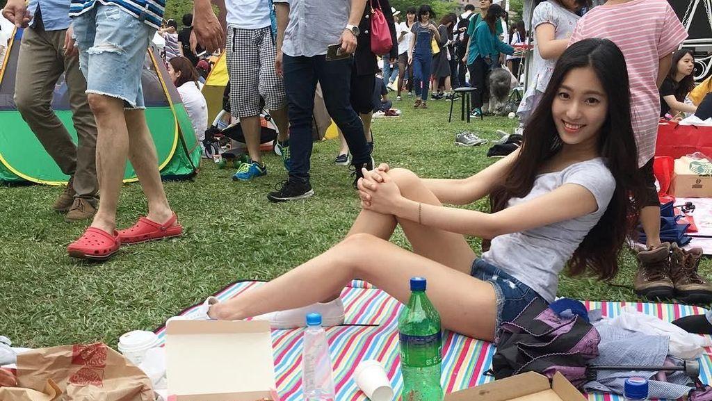 Cheng Jhiawen, Dosen Cantik yang Doyan Makan Dalam Porsi Besar