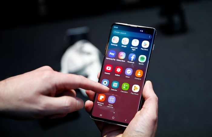 Galaxy S10. Foto: Getty Images