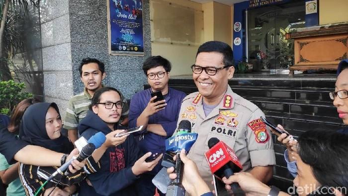 Kabid Humas Polda Metro Jaya Kombes Argo Yuwono (Alfons/detikcom)