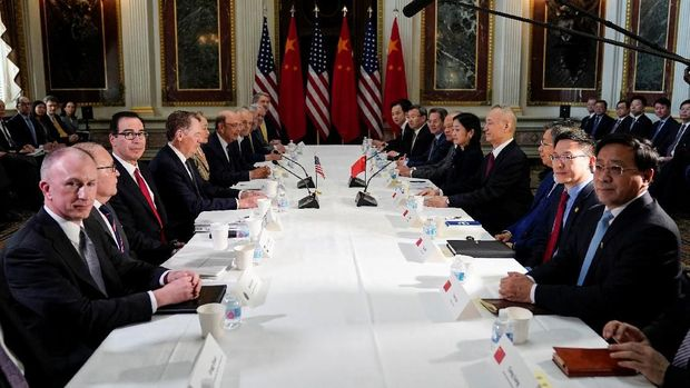 Ini Dampak Nego Dagang AS-China terhadap Bursa Saham Asia