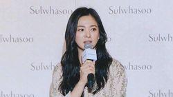 Bicara soal Kehidupan Pernikahan, Song Hye Kyo Menangis