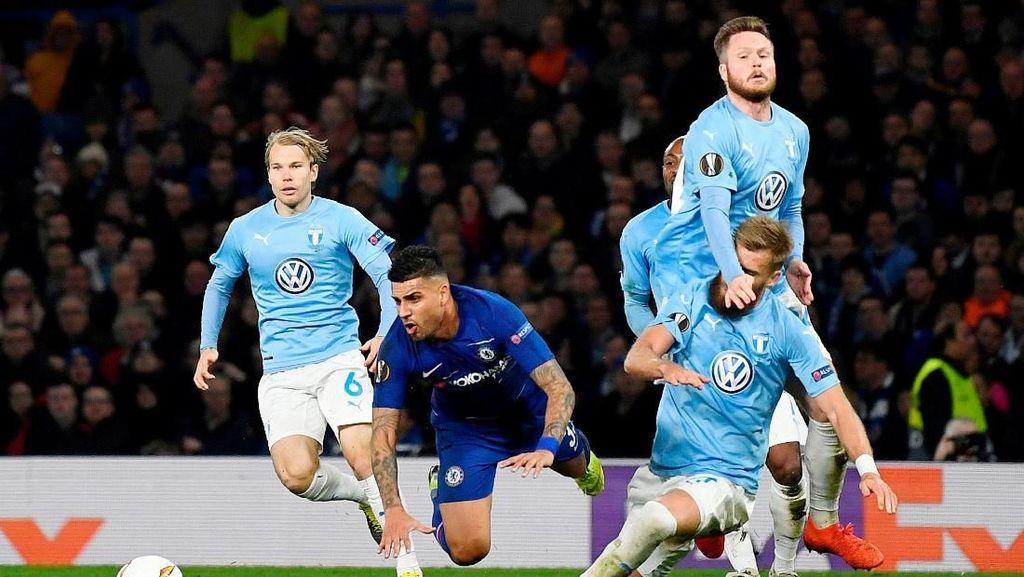 Hasil Liga Europa: Hajar Malmo, Chelsea Lolos ke 16 Besar