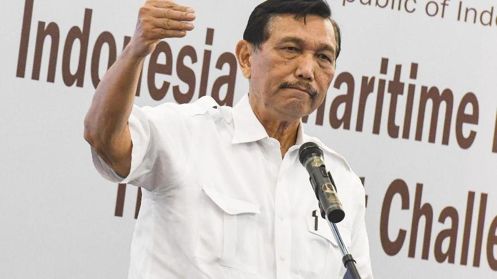 Bom Bunuh Diri di Medan, Luhut: Nggak Perlu Takut