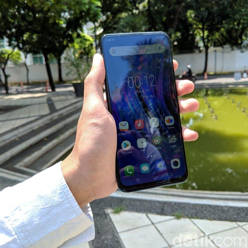 Vivo Hadirkan V15, Ponsel dengan Kamera Depan Pop-up