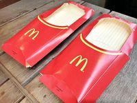 Keren! Sepatu Ini Terbuat dari Bungkus Kentang Goreng McDonald's
