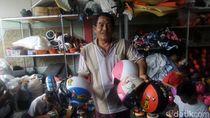 Beralih Jadi Pengusaha Helm, Petani Ini Raup Omzet Rp 500 Juta/Bulan