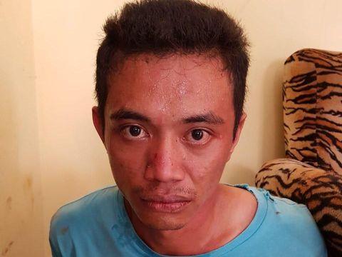 Romi Sepriawan (30), tersangka pembunuh istri di Bengkulu